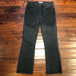 Madewell Cali Demi-Boot Jeans Chewed-Hem Edition